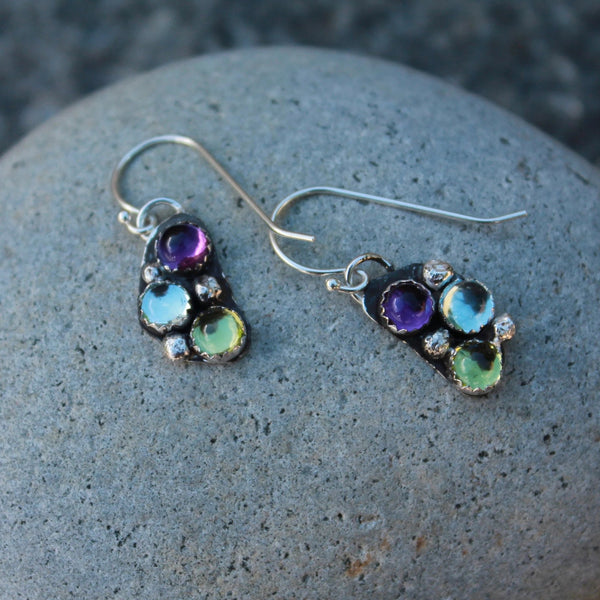 Birthstone or Multi-Stone Earrings