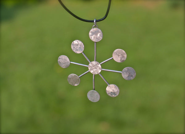 Silver Starburst Necklace