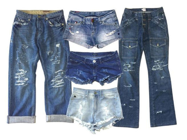 Thrifter's Distressed Jeans