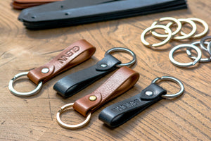 Key Ring - Delmotte Leathercraft
