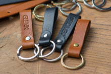 Load image into Gallery viewer, Key Ring - Delmotte Leathercraft