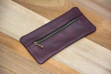 Load image into Gallery viewer, Pencil Case - Delmotte Leathercraft