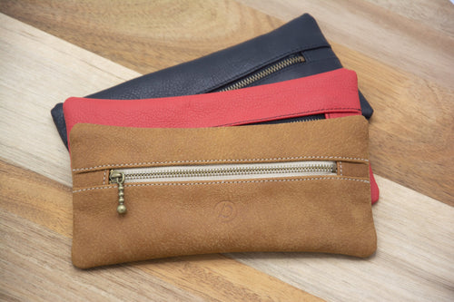 Pencil Case - Delmotte Leathercraft