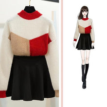 "Load image into Gallery viewer, ""CHARLOTTE"" SWEATER AND SKIRT SET"