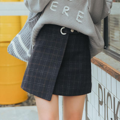 """AUTUMN PLAID"" SKIRT"