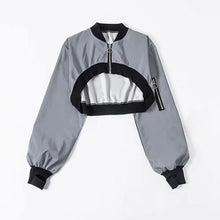 "Load image into Gallery viewer, ""MENTAL STATE"" REFLECTIVE JACKET"