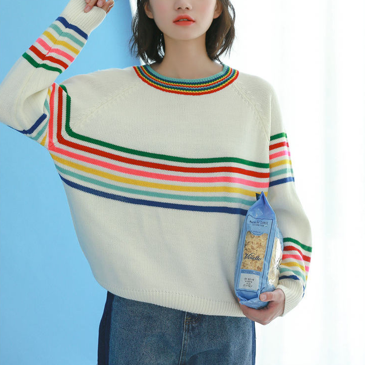"""CANDY STRIPES"" SWEATER"