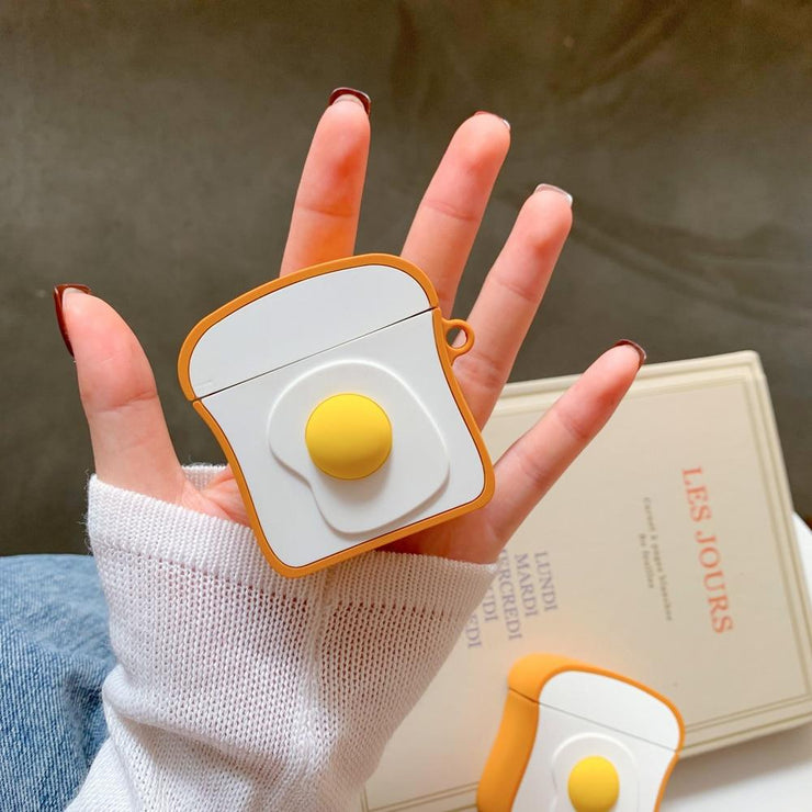 """TOAST & EGG"" AIRPODS & AIRPODS PRO CASES"