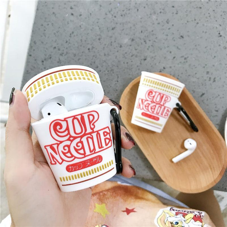"""CUP NOODLE"" AIRPOD CASE"