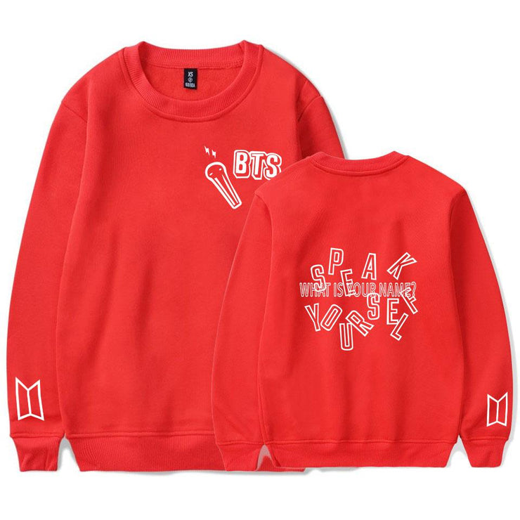 """BTS SPEAK YOURSELF"" SWEATER"