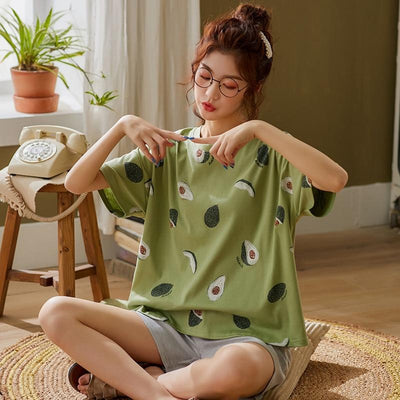 """AVOCADO"" 2 PIECE PAJAMAS SET"