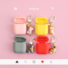 "Load image into Gallery viewer, ""PUPPY CHARM"" AIRPOD CASE"