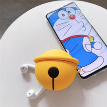 "Load image into Gallery viewer, ""DOREMON BELL 3D"" AIRPODS & AIRPODS PRO CASES"