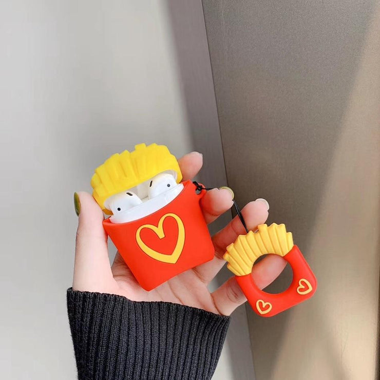 """FRIES & POPCORN"" AIRPOD CASES"
