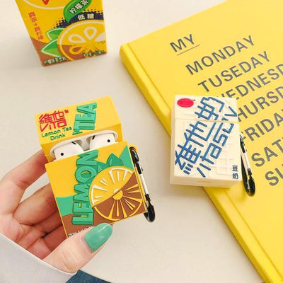 """VITASOY & LEMON TEA"" AIRPOD CASE"