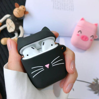 """KITTY"" AIRPOD CASE"