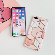 """PINK GEOMETRY"" IPHONE CASE"