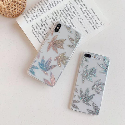 """GOLDEN LEAF"" IPHONE CASE"