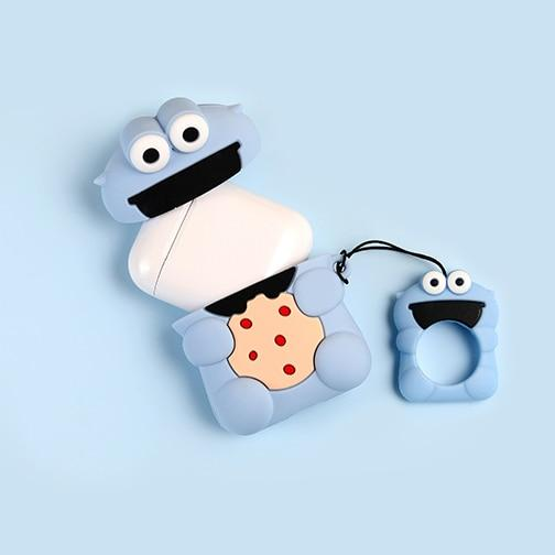 """COOKIE MONSTER"" AIRPOD CASE"