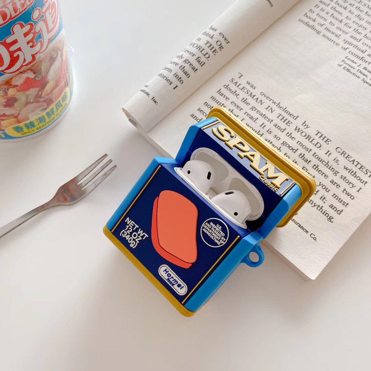 """SPAM LUNCHEON MEAT AIRPOD CASE"
