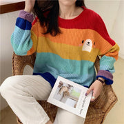 """RAINBOW BEAR"" SWEATER"