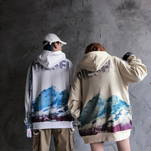 "Load image into Gallery viewer, ""SNOW MOUNTAIN"" HOODIE"