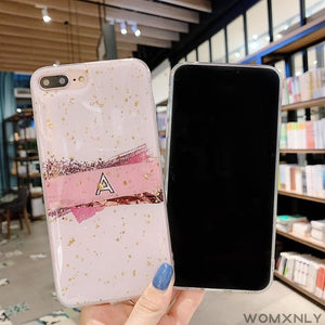 """PINK MARBLE"" IPHONE CASE"