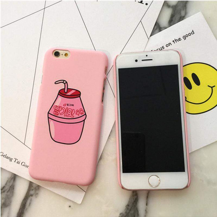 """YUMMY DRINKS"" IPHONE CASE"
