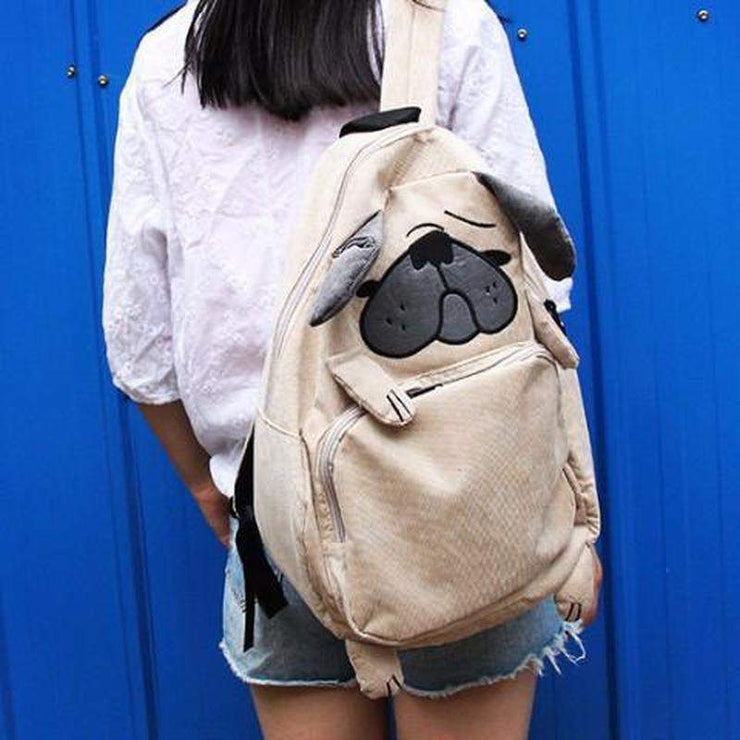 """PUGSLY"" SOFT BACKPACK"