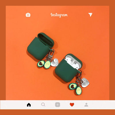 """AVOCADO CHARM"" AIRPODS & AIRPODS PRO CASES"