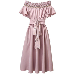 """FREYA"" CHIFFON DRESS"