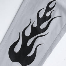 "Load image into Gallery viewer, ""BLACK FIRE"" PANTS"