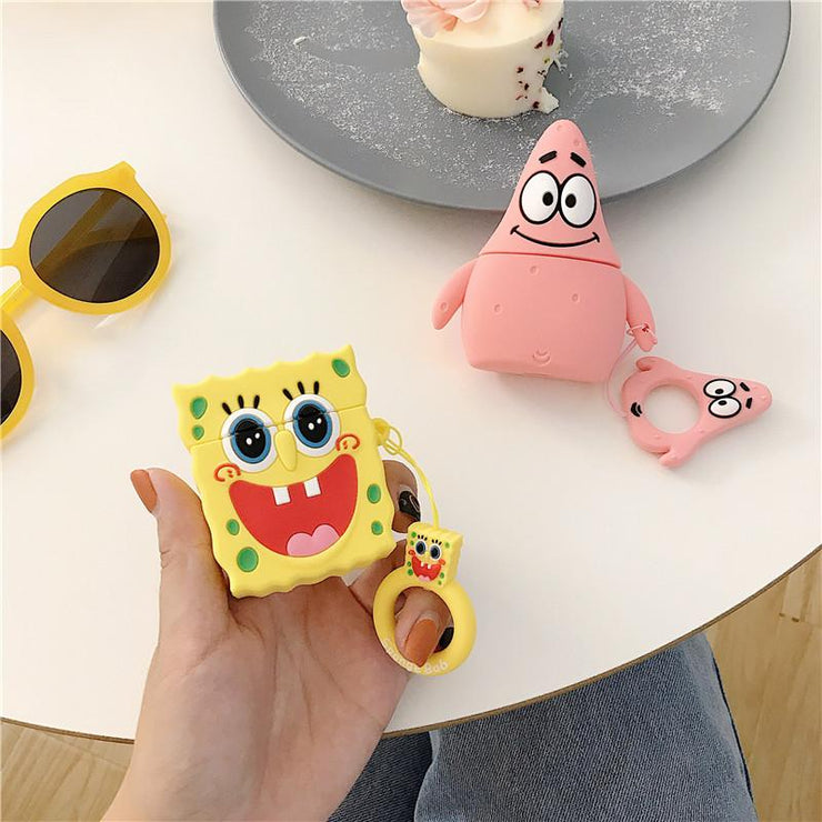 """SPONGEBOB & PATRICK"" AIRPODS & AIRPODS PRO CASES"