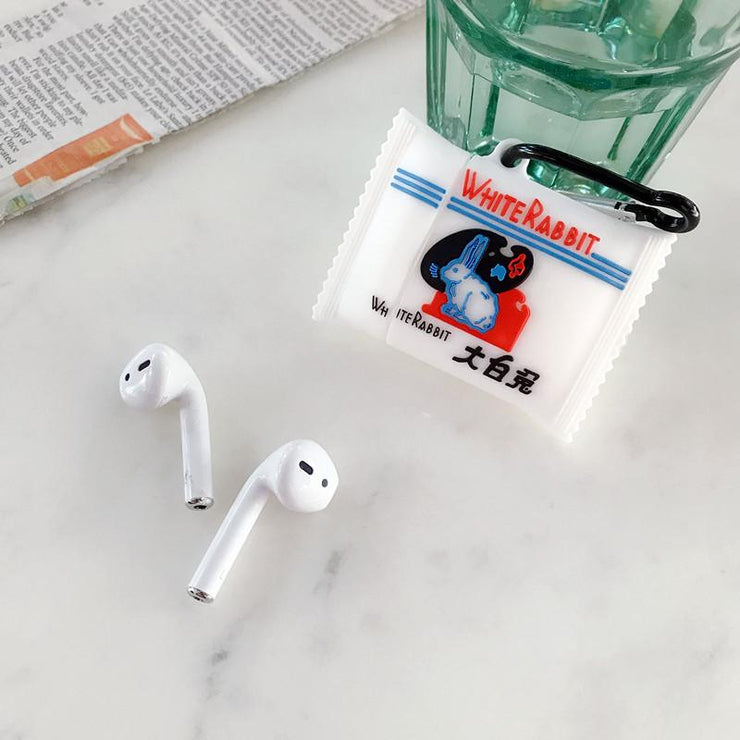 """WHITE RABBIT"" AIRPODS & AIRPODS PRO CASES"