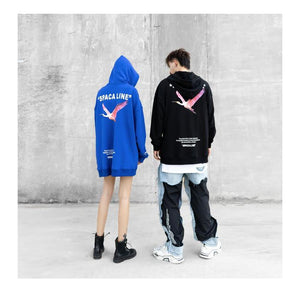"""FREE TO FLY"" HOODIE"