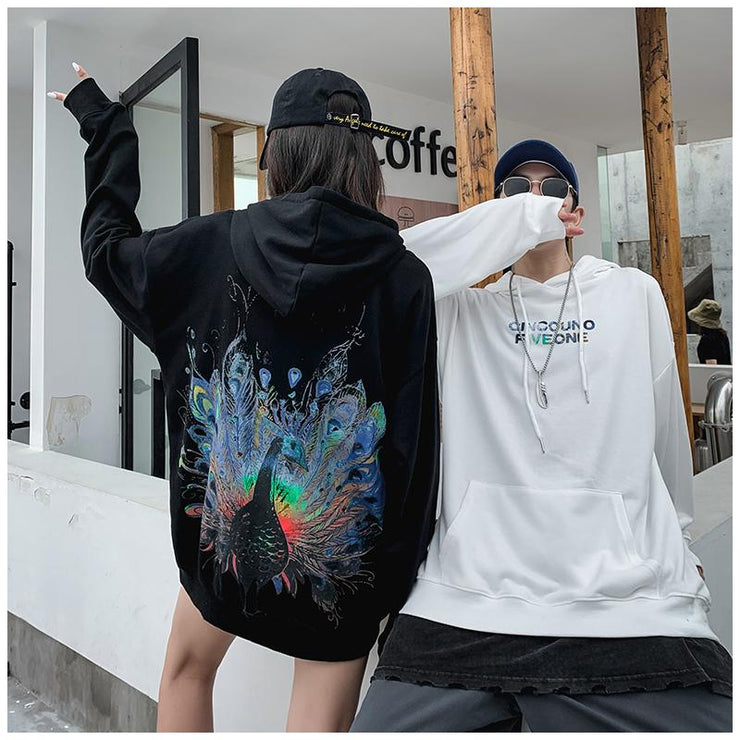 """THE IMMORTAL PEACOCK"" HOODIE"