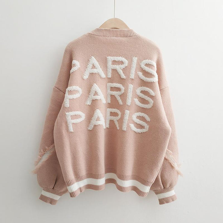 """PARIS"" SWEATER"