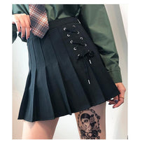 "Load image into Gallery viewer, ""LACE DOWN"" SKIRT"