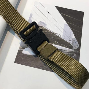 """ELEMENT"" CANVAS BUCKLE BELT"