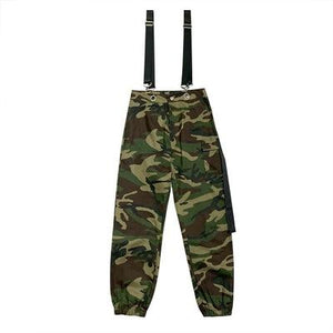 """FIRE UP"" CAMOUFLAGE OVERALLS PANTS"