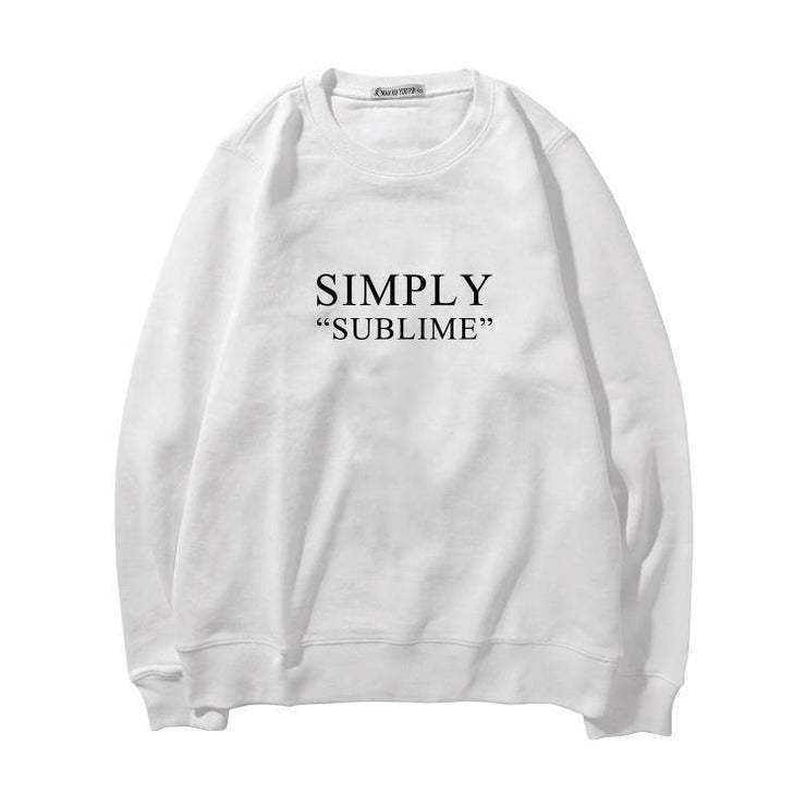 """SIMPLY SUBLIME"" SWEATER"