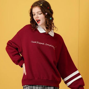 """FLIPPED"" SWEATER"