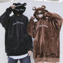 "Load image into Gallery viewer, ""SINGING BEAR"" HOODIE"