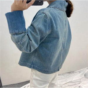 """PEEKABOO"" DENIM JACKET"