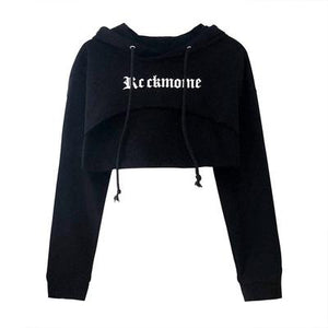 """ROCKMORE"" CROPPED HOODIE"
