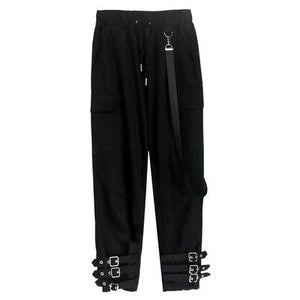 """TRIPLE THREAT"" BUCKLE JOGGERS"