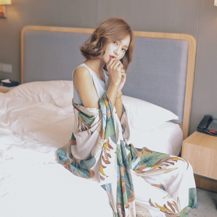 """LILY"" 4 PIECE PAJAMAS SET"