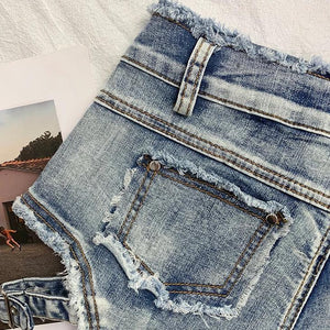 """ALL YOURS"" DENIM SHORTS"
