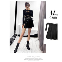 "Load image into Gallery viewer, ""ASSASSIN"" SKIRT"