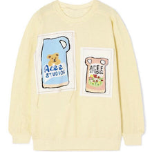 "Load image into Gallery viewer, ""BEARS AND FLOWERS"" SWEATSHIRT"